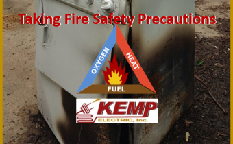 Taking Fire Safety Precautions - Kemp Electric - Elkhart County Electrical Contractor