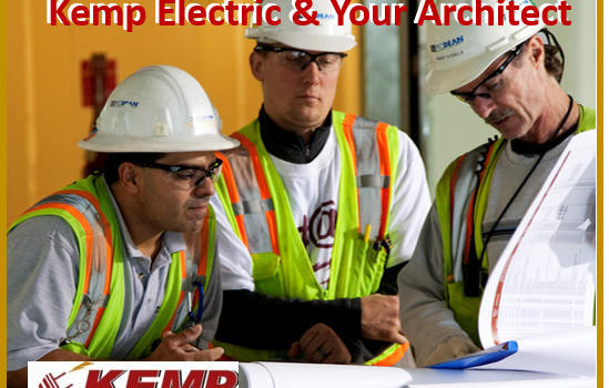 How Architects Work With Electricians and Contractors on Your Project