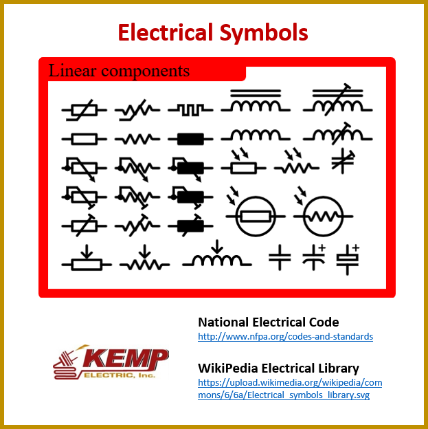 Electrical Symbols Kemp Electric
